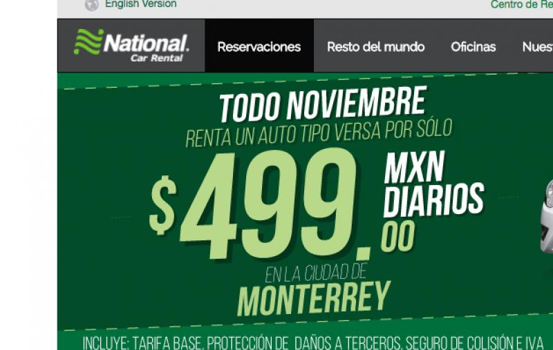 National Car Rental México