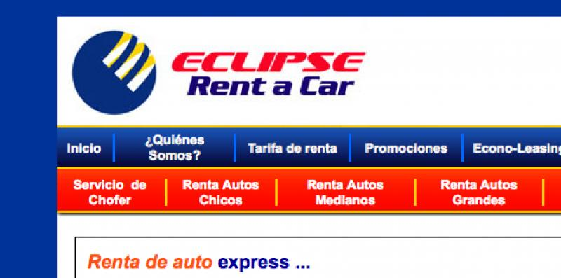 Eclipse Rent a Car