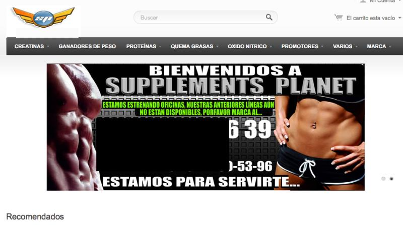 Supplementsplanet.com.mx