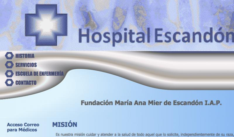Hospital Escandón
