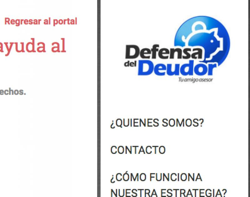 Defensa del Deudor