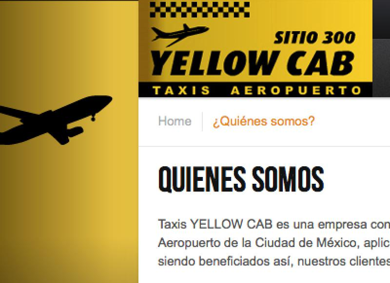 Yellow Cab Taxis Aeropuerto