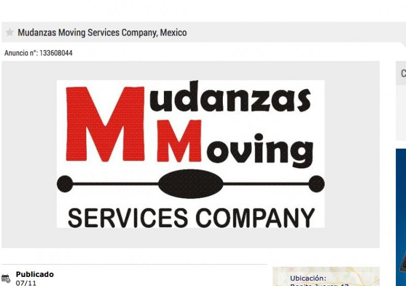Mudanzas Moving Services Company