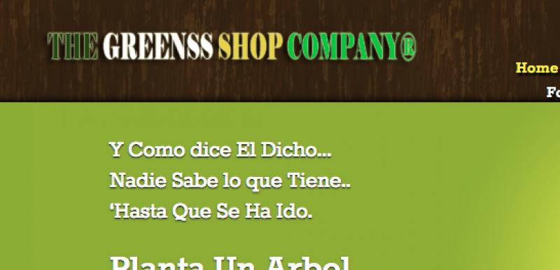The Greenss Shop Company