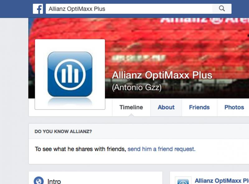 Allianz OptiMaxx Plus