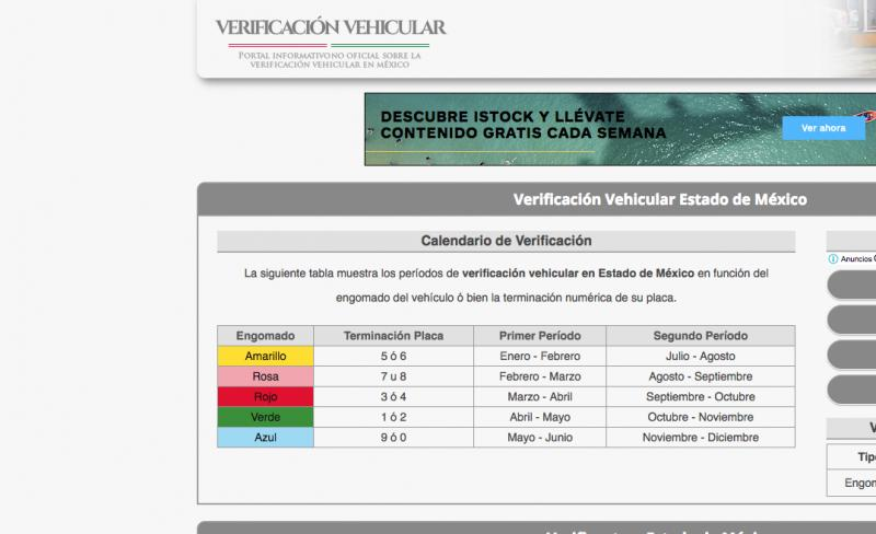 Verificentros Estado de México