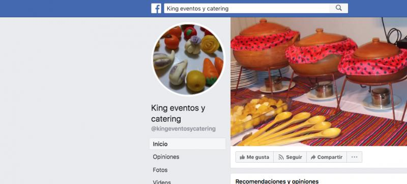 King Eventos y Catering