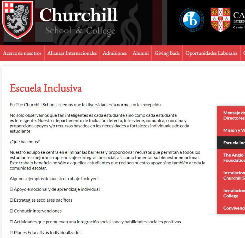 The Churchill School