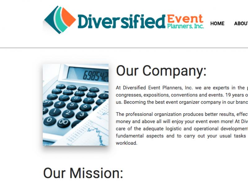 Diversified Event Planners
