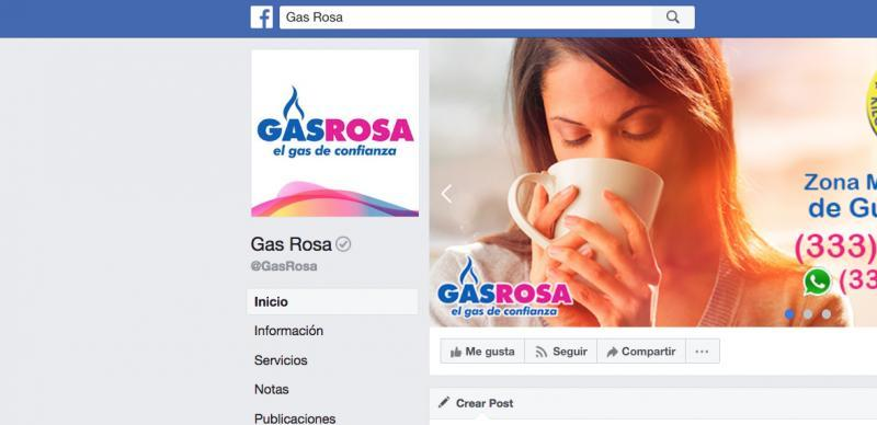 Gas Rosa